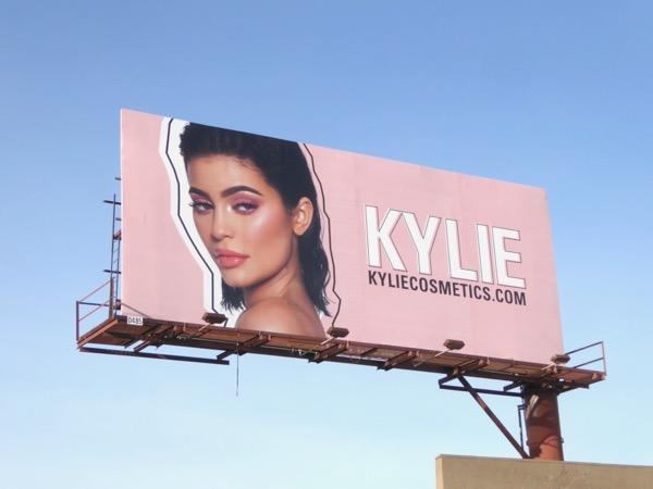 Kylie Cosmetics Jan 2018 billboard