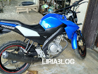 Modifikasi simple Yamaha Vixion Lightning