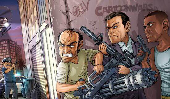 俠盜獵車手 5 (GTA 5) 武器車輛推薦及搶劫模式難點指南 | 娛樂計程車