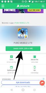Cara Download dan Install Game Pubg Lite Mobile di Android Terbaru