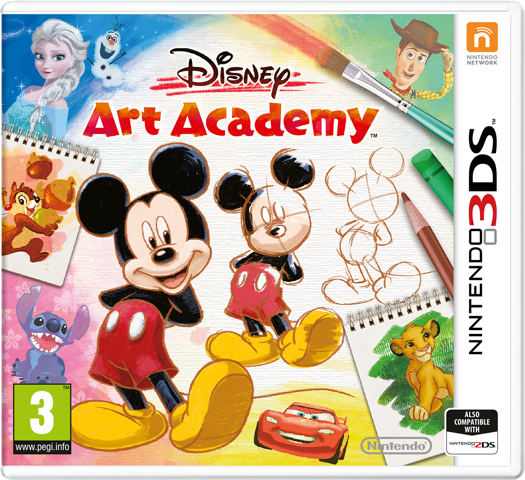 Nintendo 3DS, Disney game, drawing game
