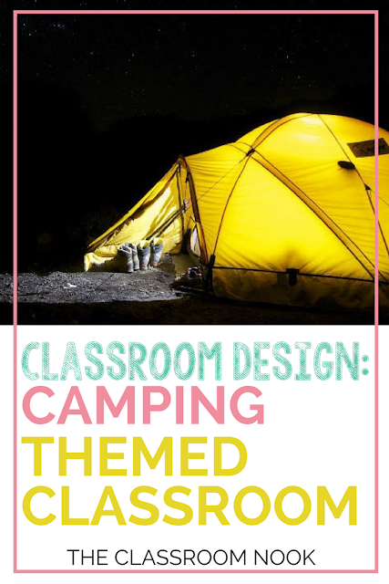 Create your camping themed classroom with these tips, ideas, and decor printables. #classroomdecor #classroomdecoration #backtoschool #classroomorganization #teacher #classroom