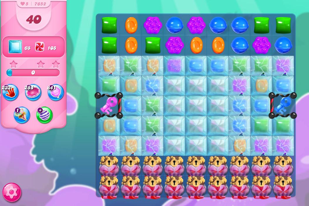 Candy Crush Saga level 7652