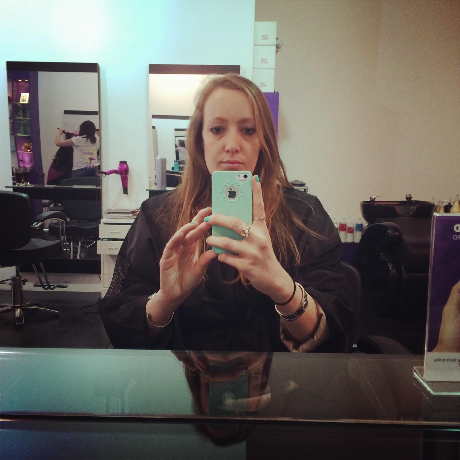 Blow-dry-The-Purple-Salon
