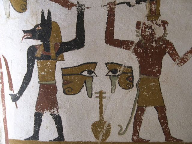 Paintings from the tomb of Sadosiris at Muzawaka (XXII)