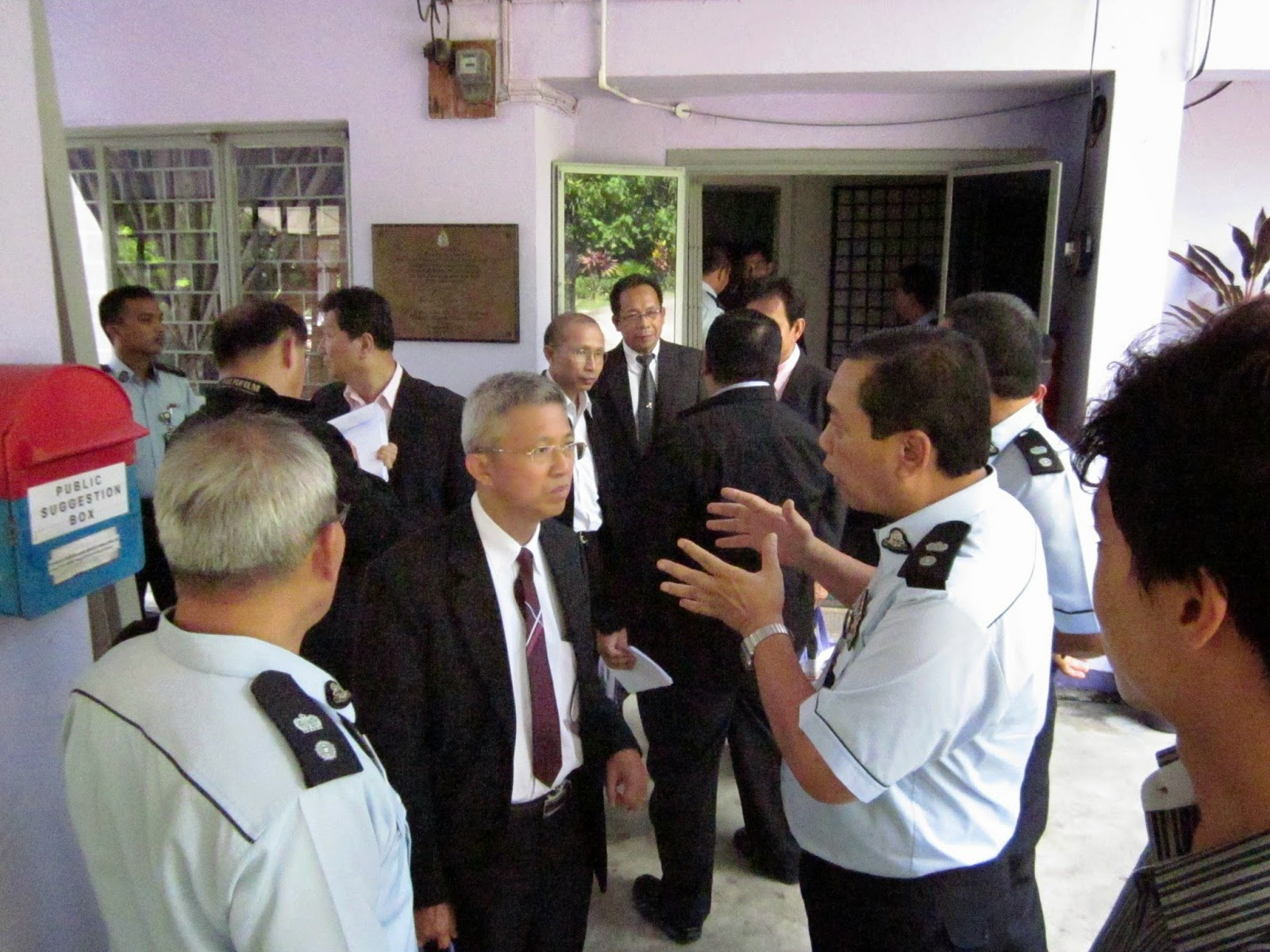 "Lawatan ""Department Of Probation"" Thailand, Ke Rumah Perantaraan WPKL, Jabatan Penjara Malaysia"