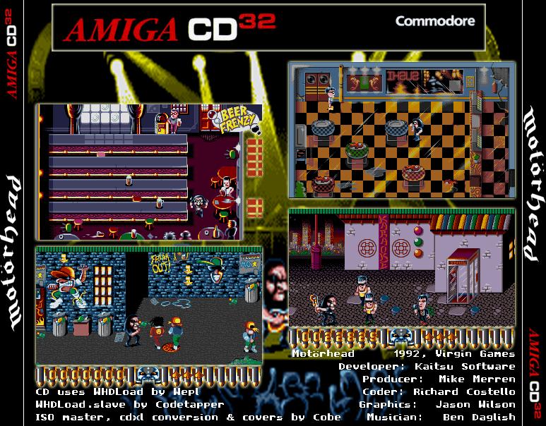 Indie Retro News: Motorhead by Cobe - An Amiga CD32