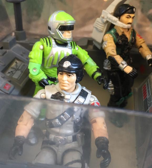 1986 Mainframe, 1985 Flint, Mauler, Bazooka, Snake Eyes, TTBP, Dial Tone, Sci Fi