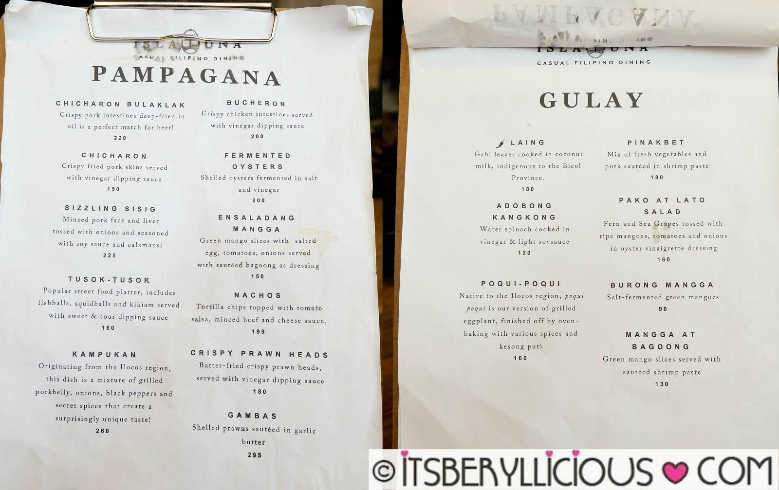 Isla Una Casual Filipino Dining- P199 Lunch Specials at ...