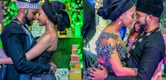 Banky W And Wife Celebrates 1st 'Tradiversary' Together In Cute Photos