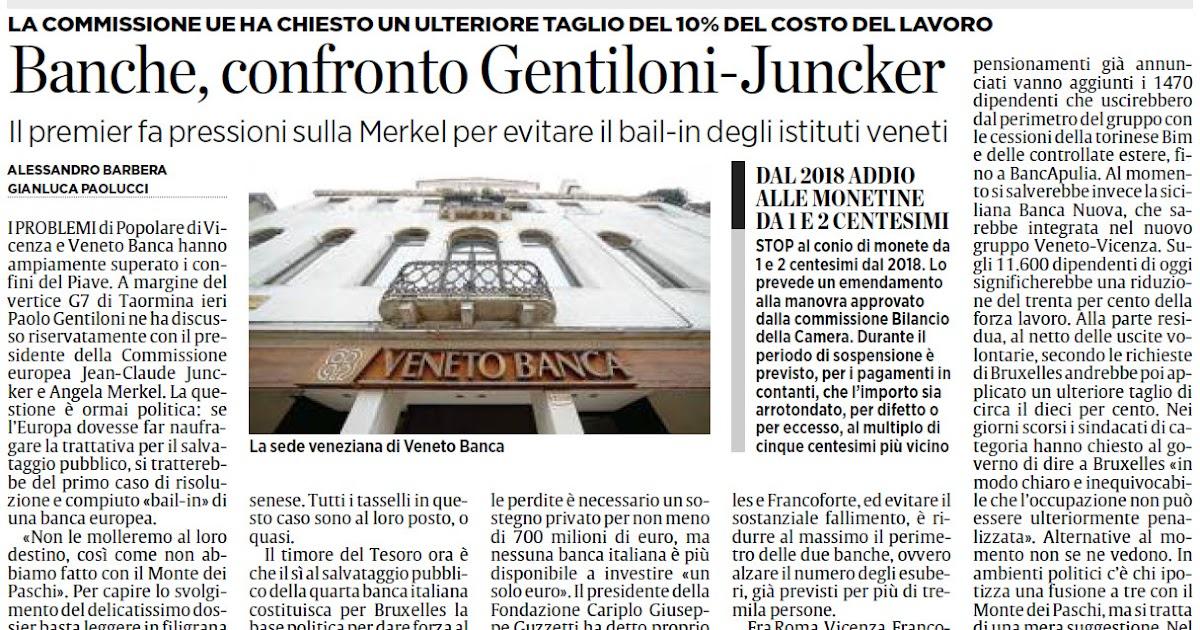 Alassiofutura roma banche venete un confronto tra il for Diretta da montecitorio