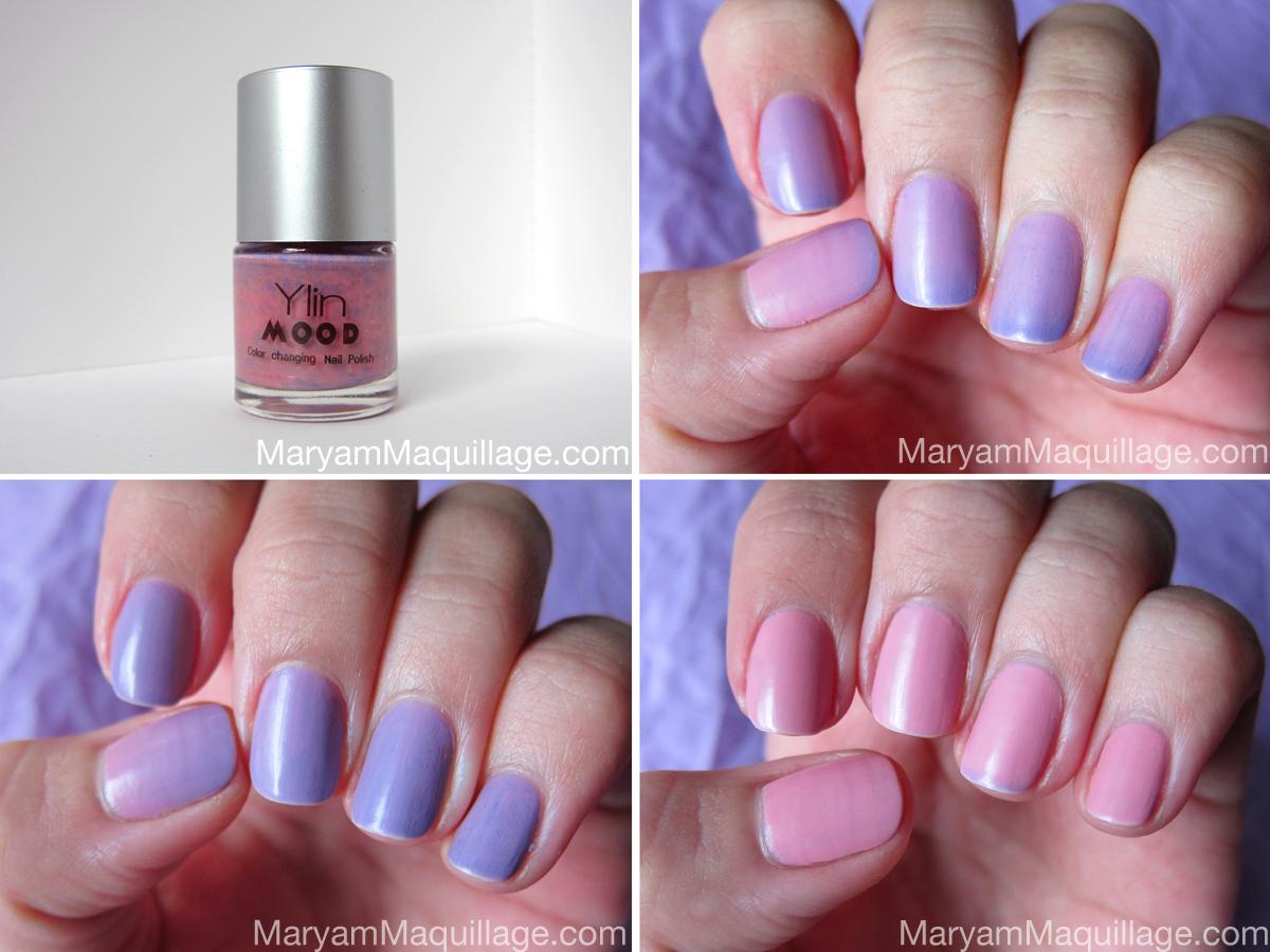 Maryam Maquillage May Flowers Nailart