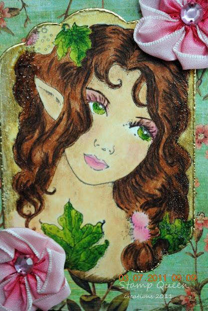 Stamp Queen Summer Fairy