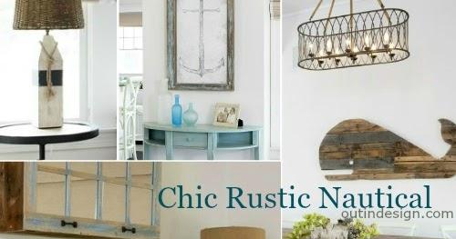 Nautical Home With Reclaimed Wood Furnishings Rustic