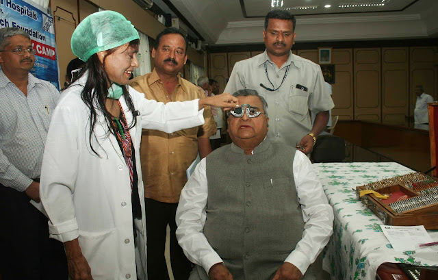 Dr Sunita Rana Agarwal of Dr Agarwal Hospitals conducted Free Eye and Gene Therapy Medical Camp for Vidhana Soudha officials Bangalore. The camp was inaugurated by Shri. K B Kodiwal, Honorable speaker Karnataka Legislative Assembly.