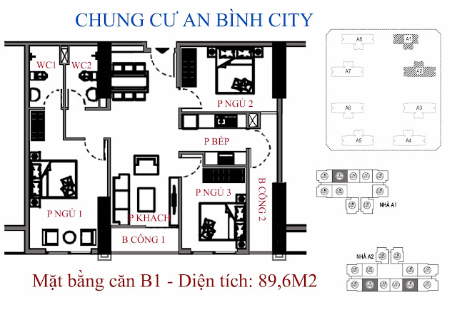Căn B1 89m An Bình City