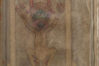 Wow Mengerikan, Ada Kitab Iblis di Swedia