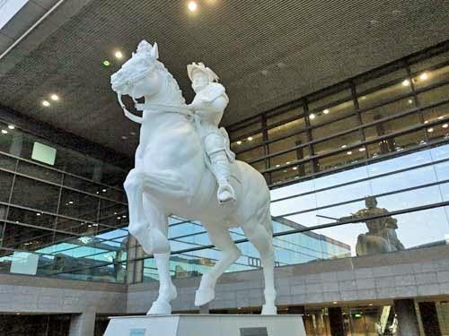 Sforza Monument Leonardo's Horse, Nagoya, Aichi.