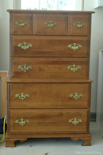 Dated dresser before