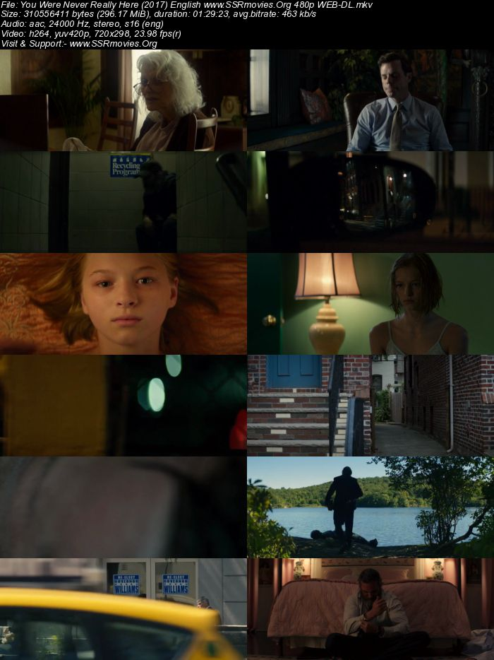You Were Never Really Here (2017) English 480p WEB-DL