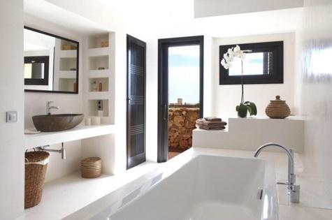 nett badezimmereinrichtung deco estilo ibicenco