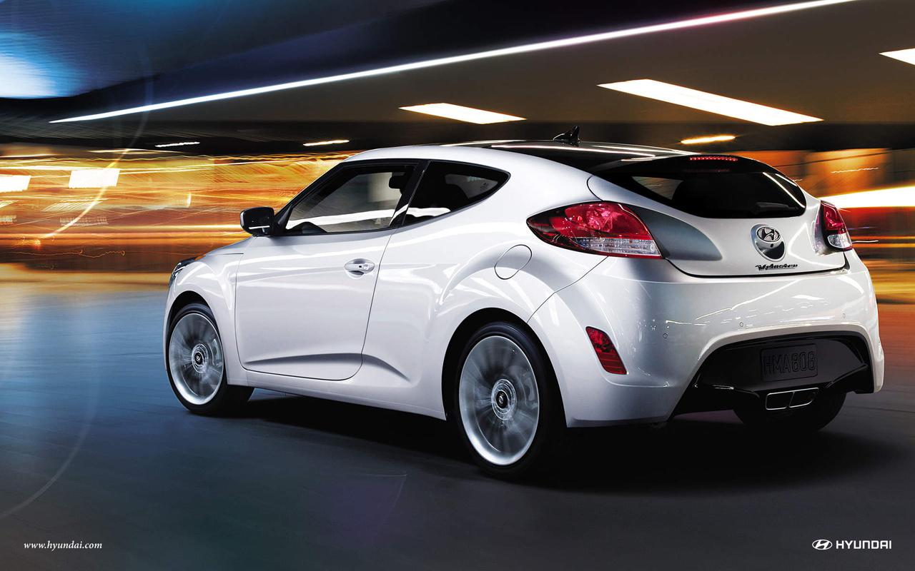 2012 Hyundai Veloster Wallpapers