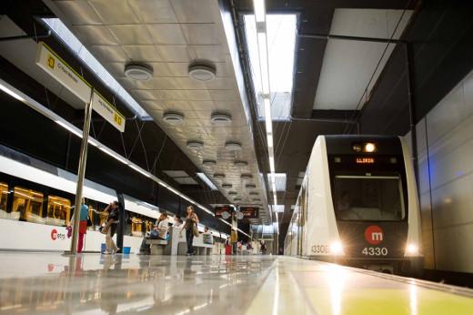Veintiún estaciones de Metrovalencia superaron el millón de viajeros en 2018