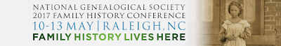 Registration Opens for the National Genealogical Society's 2017 Family History Conference