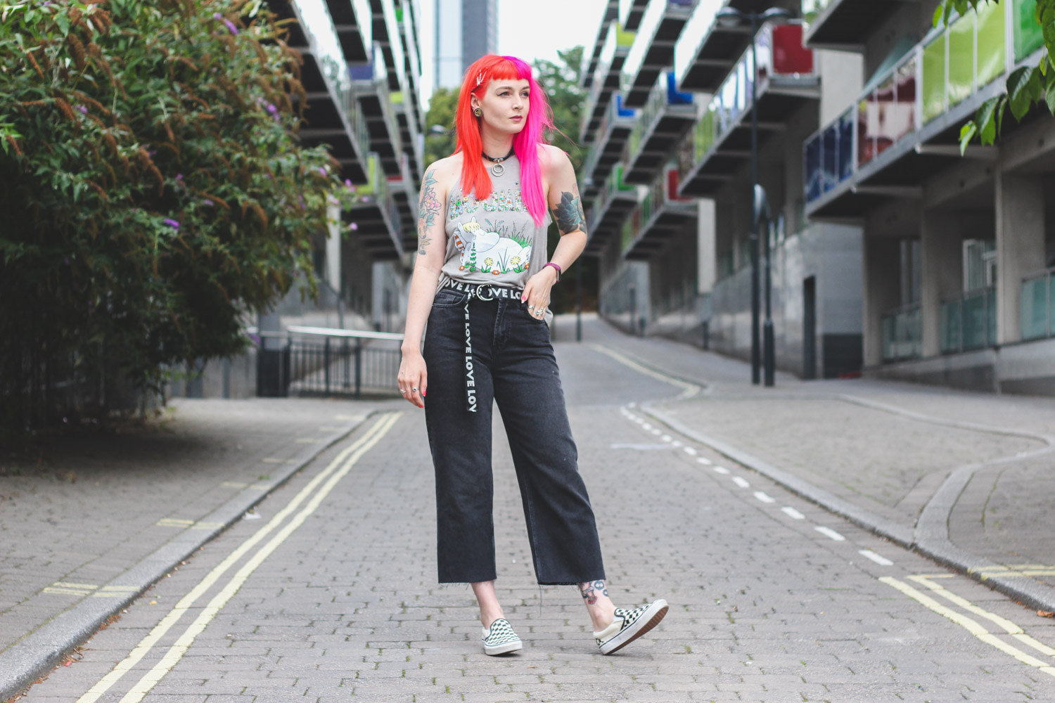 Alternative Fashion Blogger Foxxtailz Styles Truffle Shuffle Moomin Top