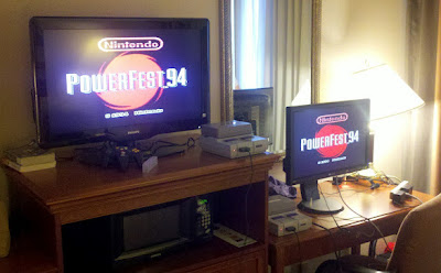 Two PowerFest Carts 2 TVs