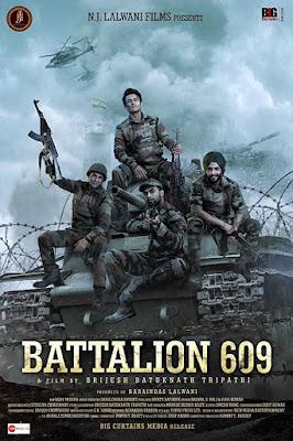 Poster Battalion 609 2019 Hindi HD 720p