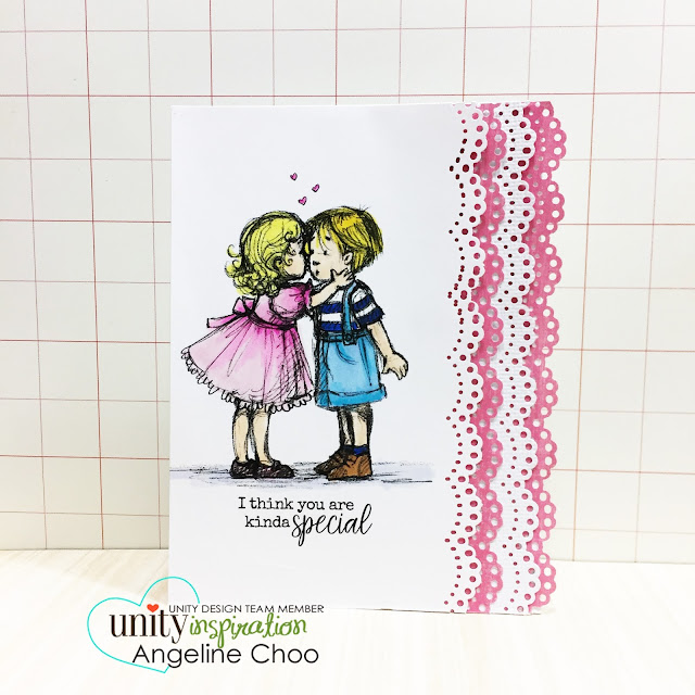 ScrappyScrappy: [NEW VIDEO] Valentine's love cards with Phyllis Harris-Unity Stamp #scrappyscrappy #unitystampco #phyllisharris #valentine #thankyoucard #card #cardmaking #papercraft #stamp #stamping #quicktipvideo #youtube #video #copic #coloring #marthastewart