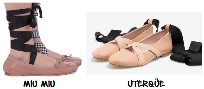 clones 2016 ballerinas miu miu uterqüe