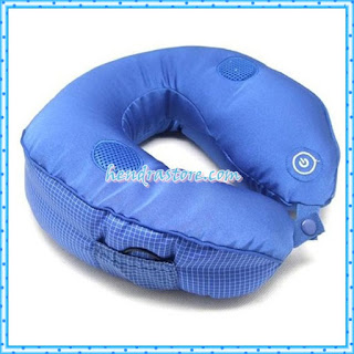 Jual Bantal Pijat MP3 Travel Pillow Massager Murah
