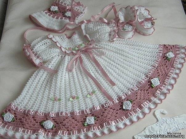 Vestidos Tejidos A Crochet Para Niño Dios Imagui