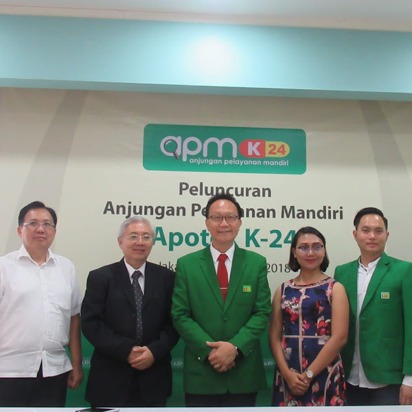 Anjungan Pelayanan Mandiri Inovasi Terbaru Apotek K-24