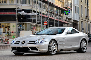 Mclaren Benz SLR HD wallpapers