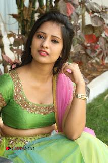 Actress Nikitha Bisht Stills in Lehenga Choli at Pochampally Ikat Art Mela Launch  0353.JPG