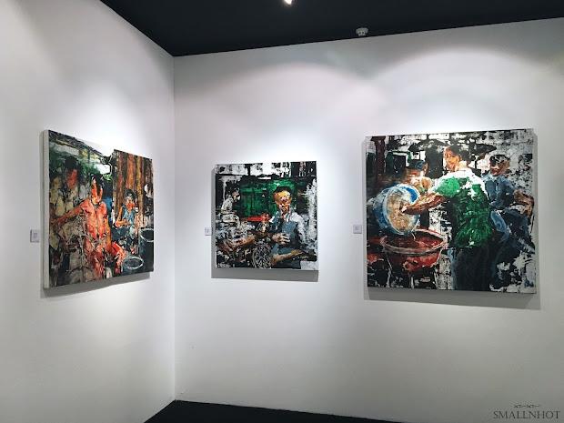 3' Crowd Art Exhibition Starhill Kl - Small Hot Malaysia