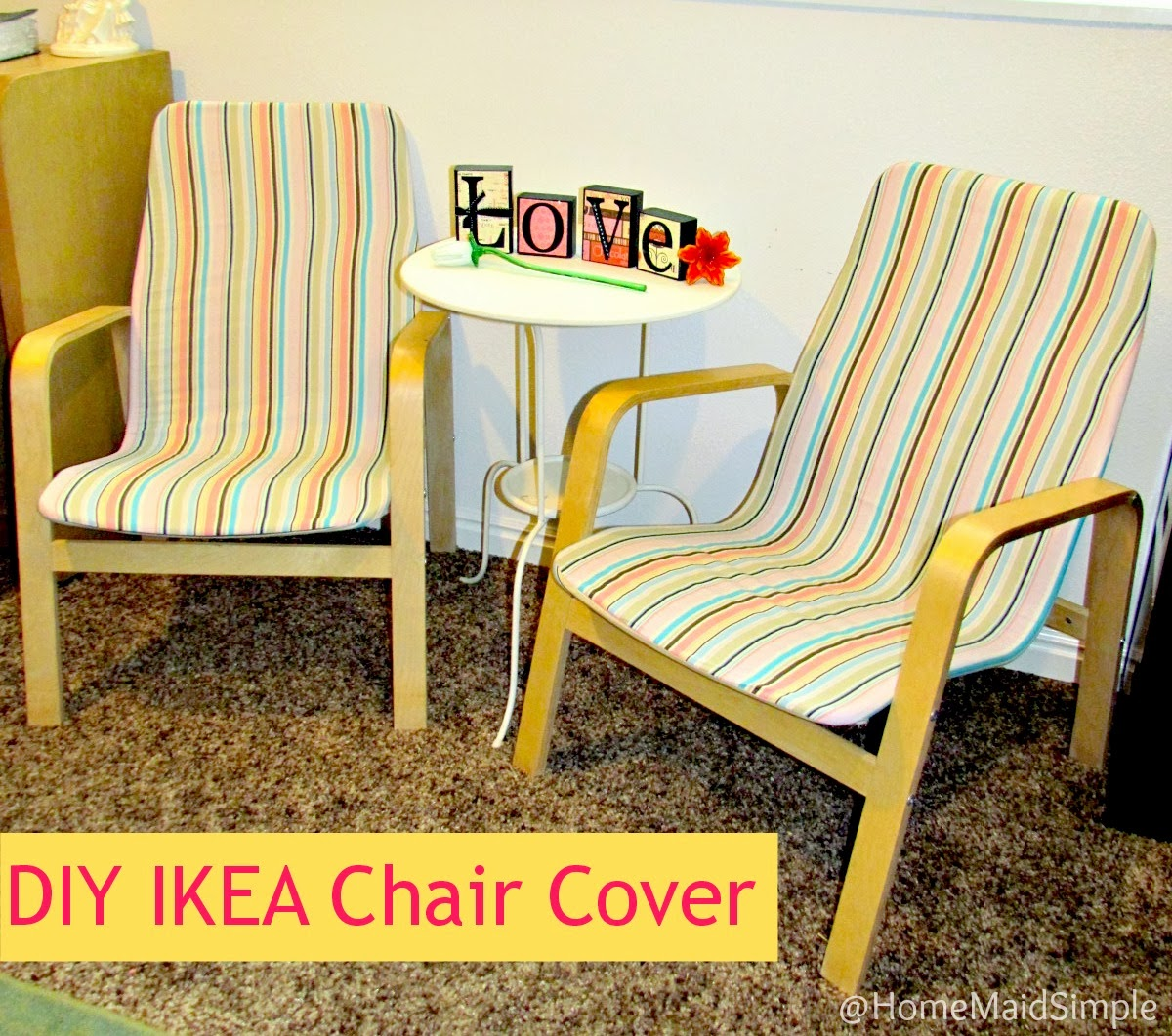 ikea children's chair covers rattan target home maid simple diy recover