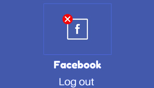 Facebook Logout Sign Out