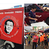 "Free Lugaw serves during ""National Day of Protest"" in Plaza Miranda"