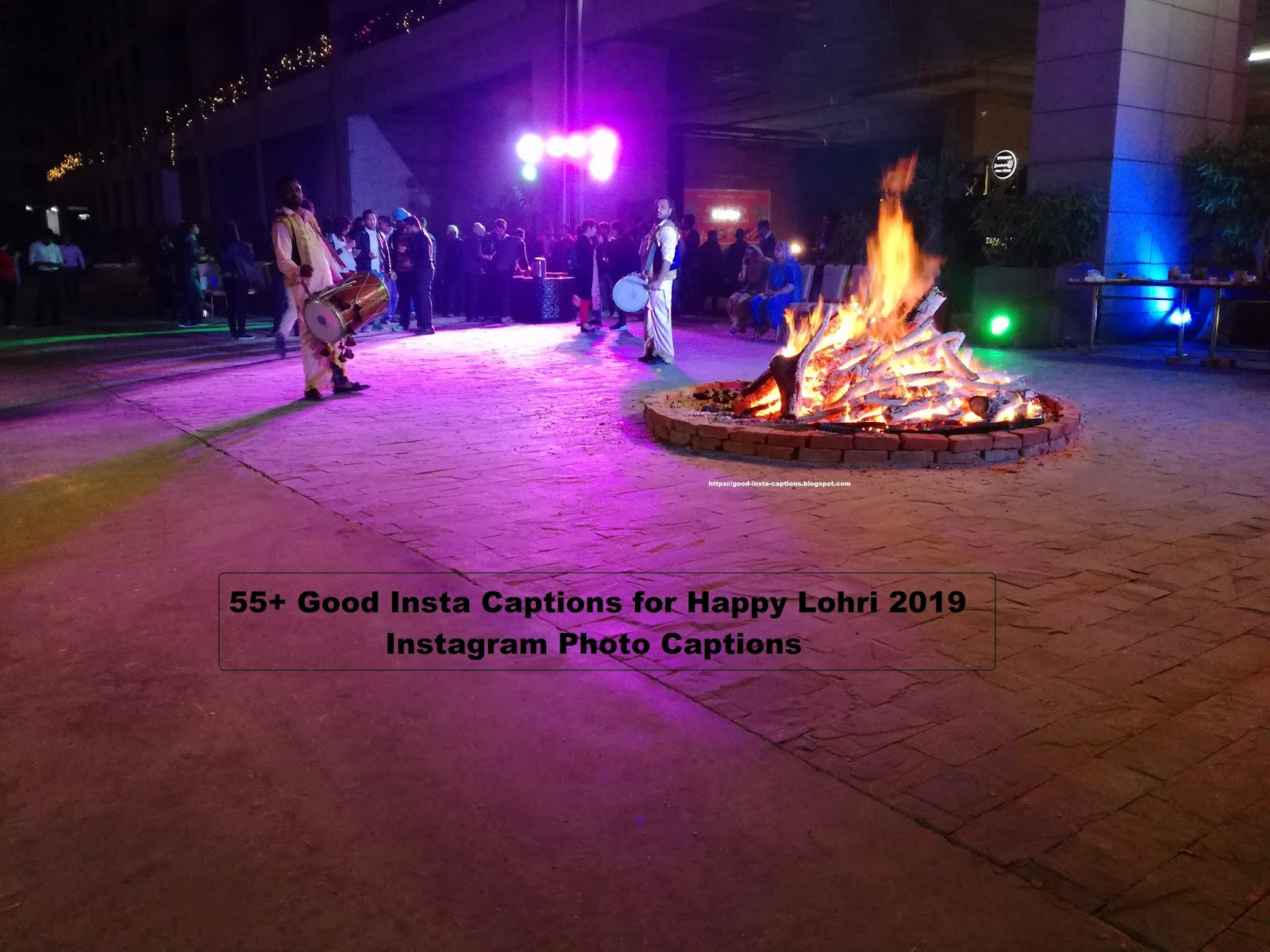 Collection of Happy Lohri Good Insta Caption