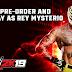 Rey Mysterio será o Superstar Pre-Order do WWE 2k19