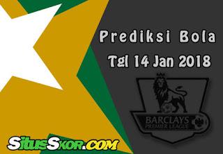 Prediksi Skor Bournemouth vs Arsenal Tanggal 14 Januari 2018