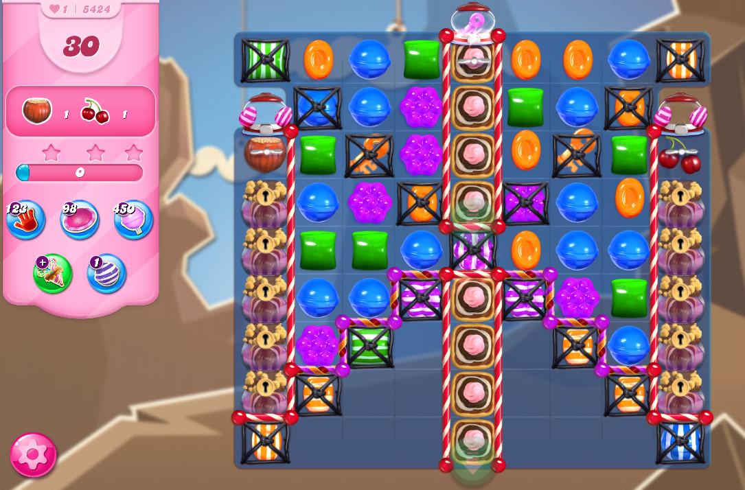Candy Crush Saga level 5424