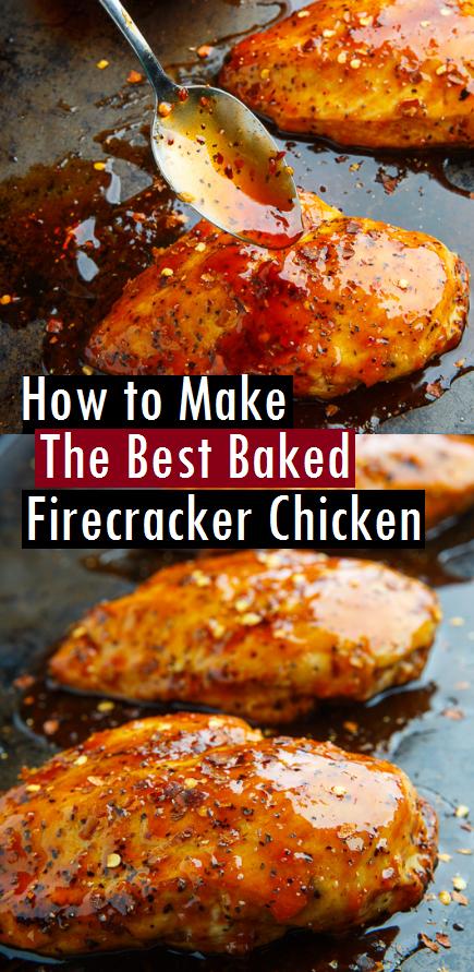How to Make The Best Baked Firecracker Chicken