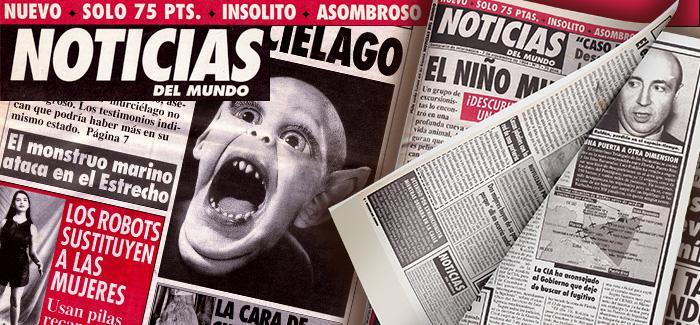 Periódico Noticias del Mundo Número 7 1994