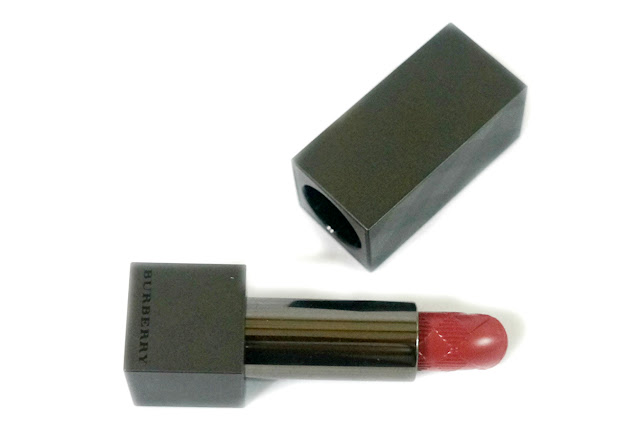 Burberry Lip Velvet Long Wear Lipstick in Rosewood No. 421