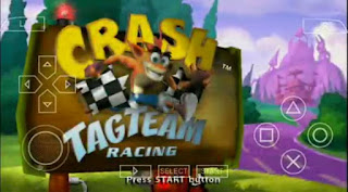 CRASH TAG TEAM RACING ISO PPSSPP